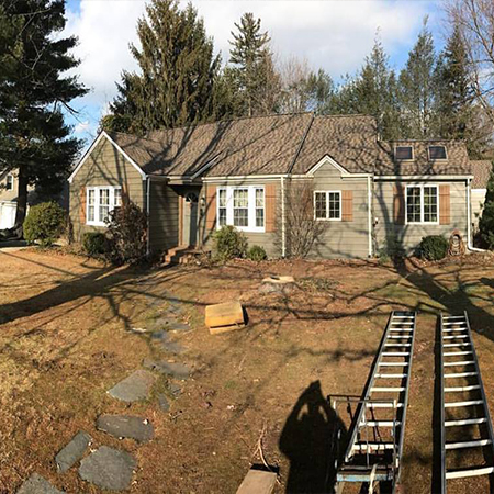 Ranch Roof Replacement in Ellington CT
