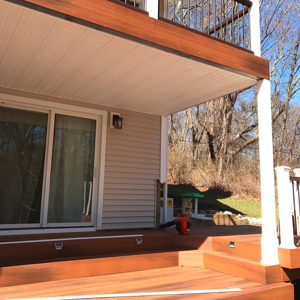 Siding and Porch Soffit Installation in Tolland, CT