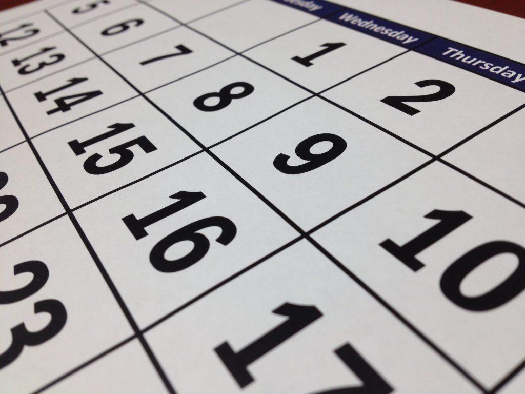 calendar checking