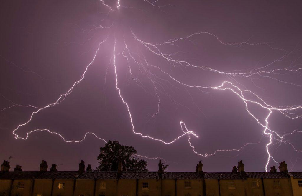 lightning thunder storm