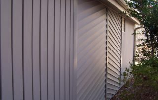beautiful glossy brand new property siding