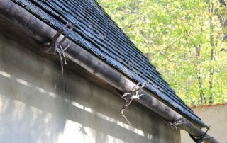 rare wood style gutters for residential properties