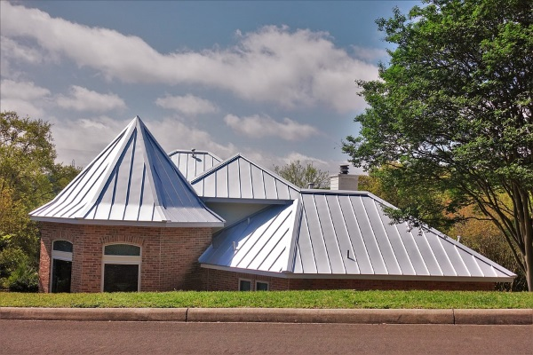 elegant metal roofs on sloped roofed properties